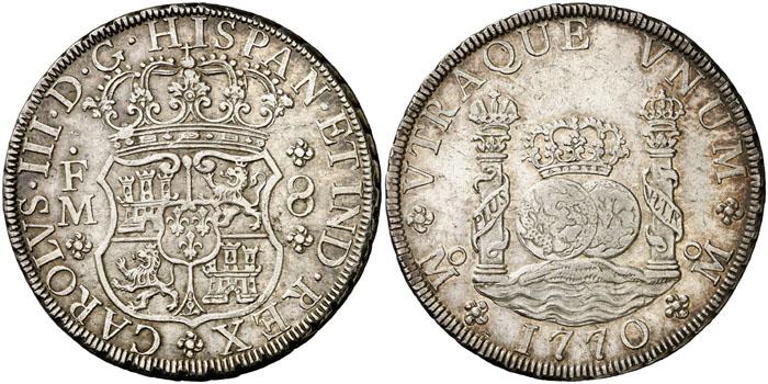 Columnario México 1770