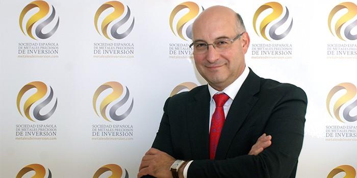 Gabriel Ruiz Ramirez, presidente de Sociedad Española de Metales Preciosos de Inversión SEMPI