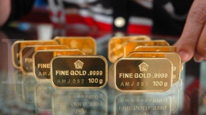 Lingotes de oro de Indonesia