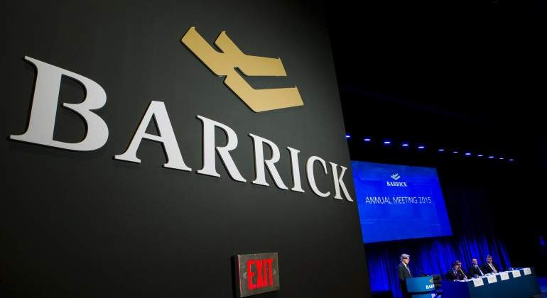 Logo Barrick Gold