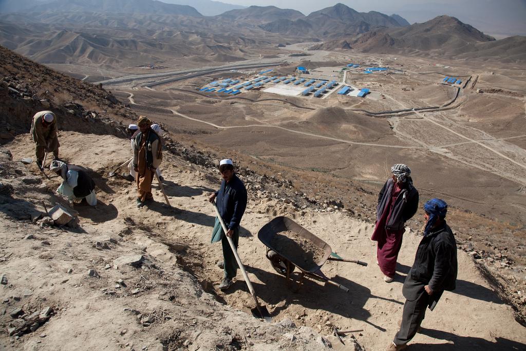 Afganistán firma un acuerdo para la explotación sus minas de oro y cobre -  Oroinformación