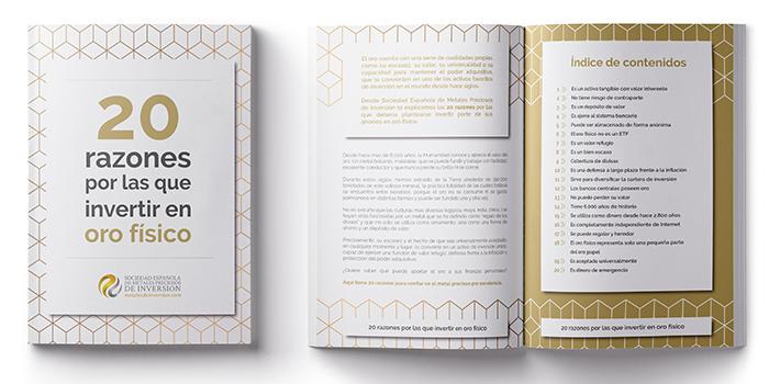 1dcda5f3365c Las 20 razones por las que invertir en oro físico  ebook para ...