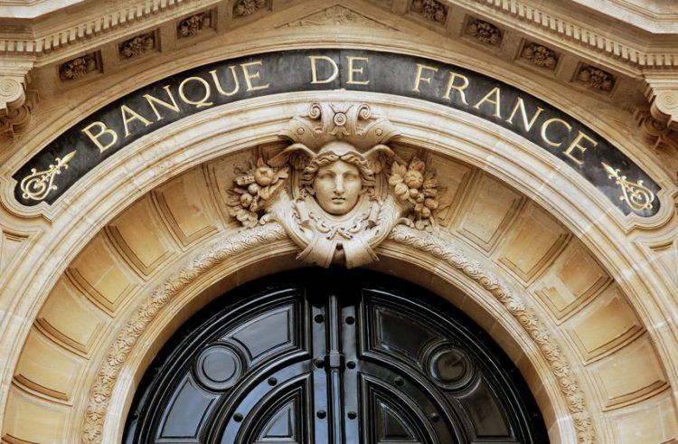 Fachada principal del Banque de Francia (París)
