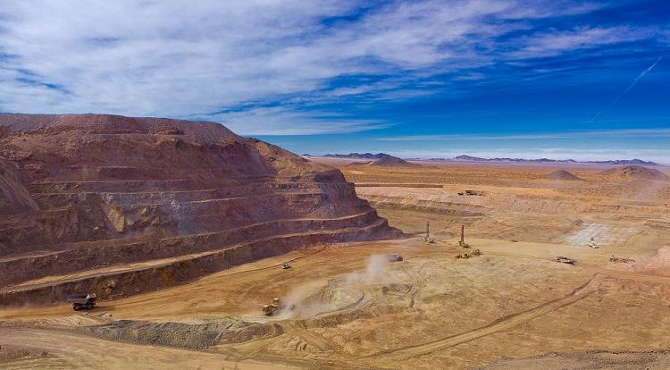 Mina de Herradura, en el desierto de Sonora (México), explotada por Fresnillo