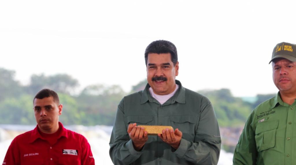 Venezuela ocupará el primer puesto en la producción mundial de oro, dice su Gobierno