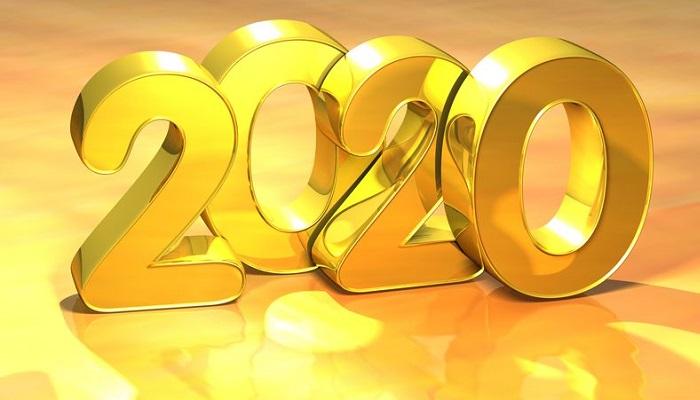 Año 2020 en oro