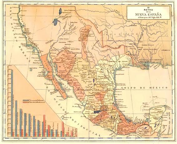 Mapa De Nueva España Siglo Xvi.La Moneda Y La Circulacion Monetaria En Nueva Espana En El