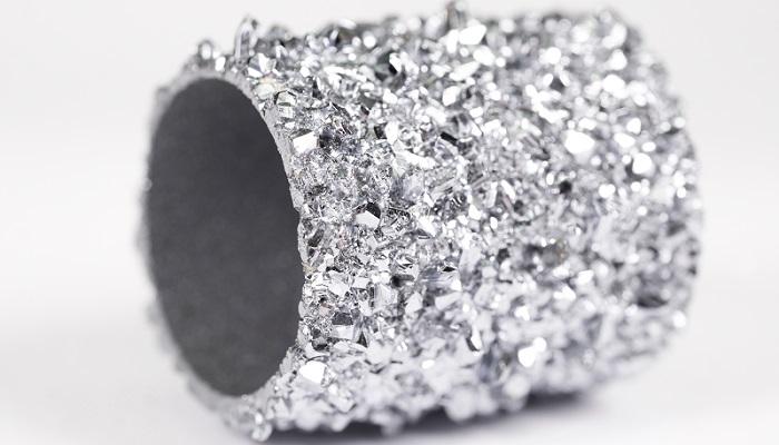 Osmio en forma cristalizada