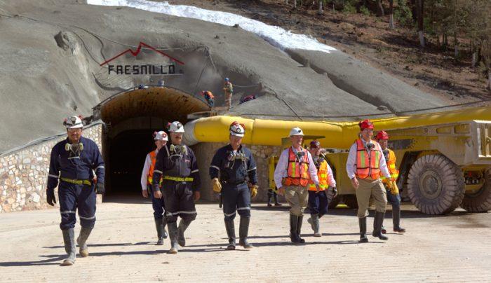La empresa minera mexicana Fresnillo Plc es la principal productora de plata del mundo