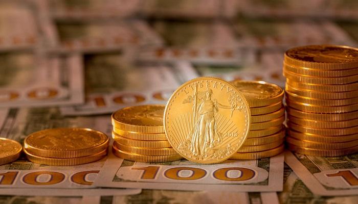 Eagle de oro. Moneda de inversión de EEUU