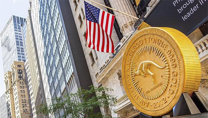 Un Canguro de una tonelada de oro visitó Wall Street de la mano de The Perth Mint