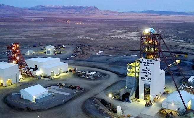 """En marcha el complejo de producción de oro más grande del mundo: """"Nevada Gold Mines"""""""