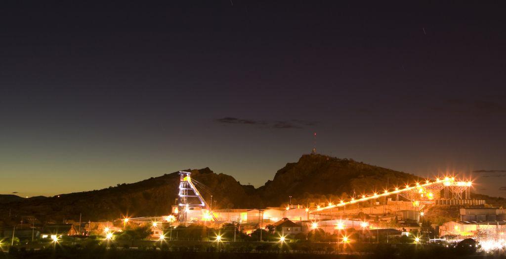 Mina de plata de Fresnillo (México)
