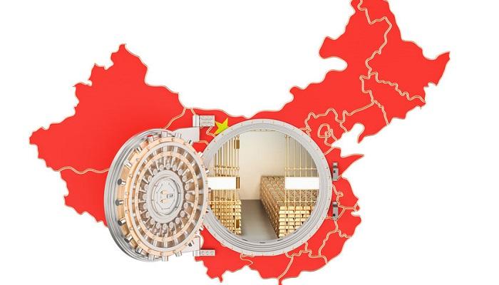 Recurso reservas de oro de China