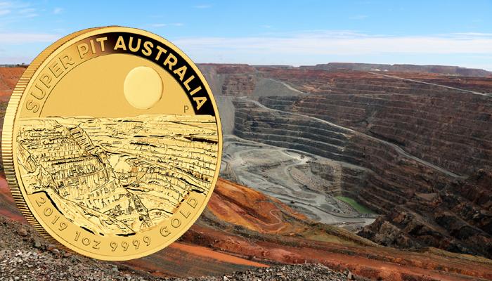 The Perth Mint presenta un nuevo bullion de oro .9999 dedicado a la mina Super Pit