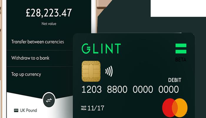 Glint, la nueva tarjeta de débito que permite a los usuarios gastar su oro como dinero