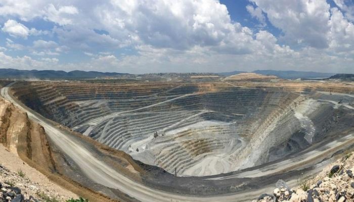 Mina de oro y plata de Peñasquito (México), explotada por Newmont Goldcorp
