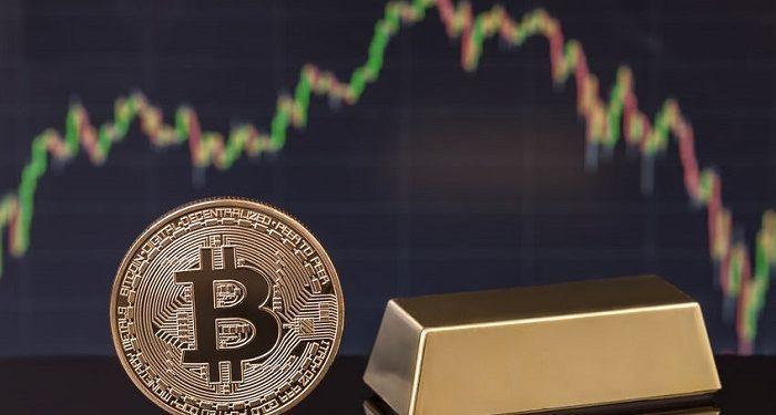 Oro frente a bitcoin