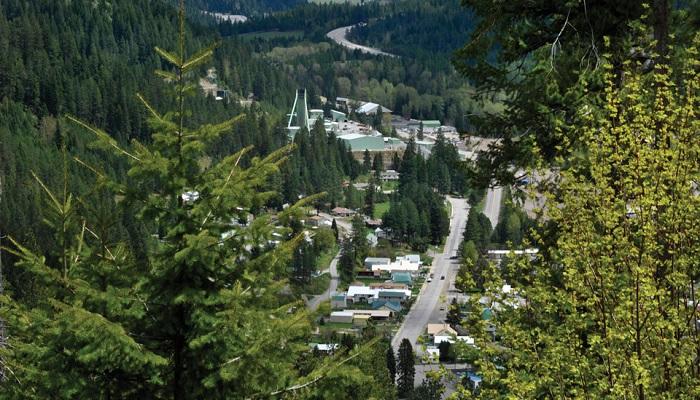 Mina de plata de Lucky Friday (Idaho, EEUU), propiedad de Hecla Mining