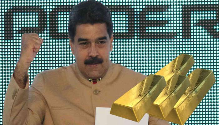 Maduro inaugura una nueva planta de extracción y procesamiento de oro en Estado Bolívar