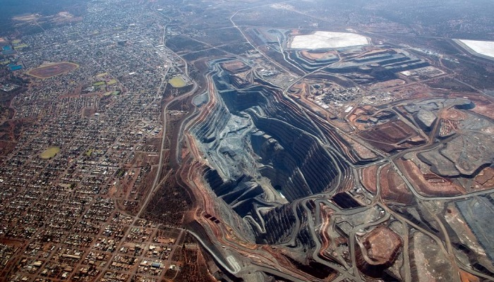 MIna de oro Super Pit de Kalgoorlie (Australia Occidental)