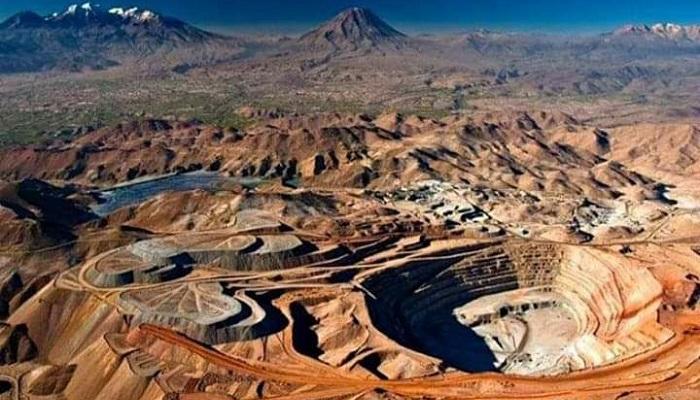 Mina de oro de Yanacocha (Perú)