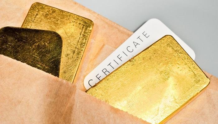 Oro físico mejor que oro papel