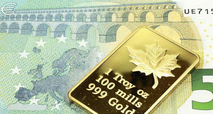 Desde su creación, hace 20 años, el euro se ha devaluado en un 85% frente al oro