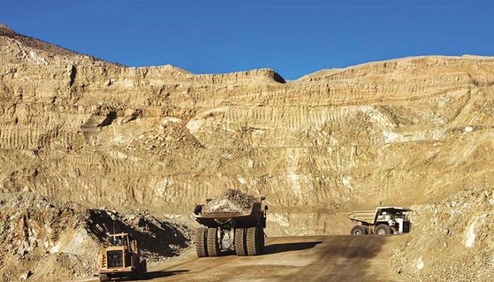 Mina de oro de Mesquite (California, EEUU)