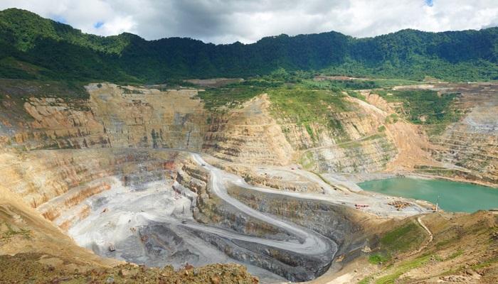 Mina de oro de Lihir (Papúa Nueva Guinea)