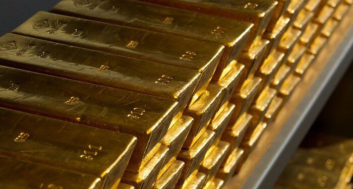Lingotes de oro de la cámara acorazada de Bundesbank
