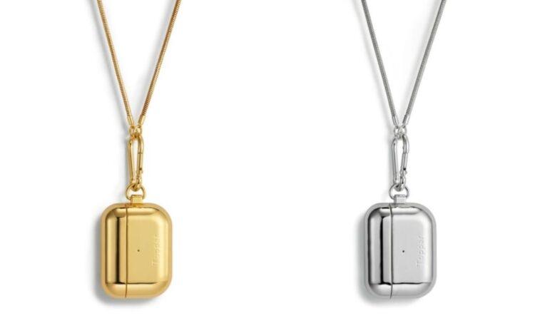 Fundas de oro y plata para AirPods