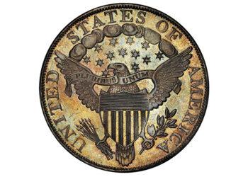Reverso del dólar de plata de 1804